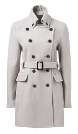 Forever New Dhalia Belted Military Coat
