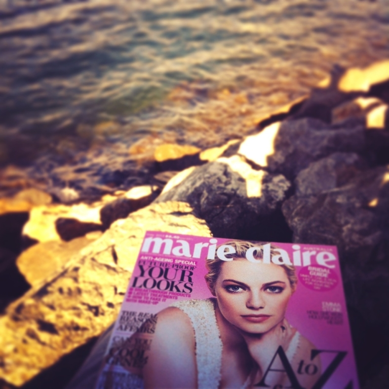 SUNDAY INSPIRATIONS with Marie Claire