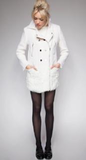 White 60's Coat