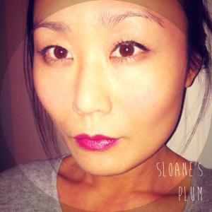 Sloane's Plum Moisture Renew Lipstick Rimmel