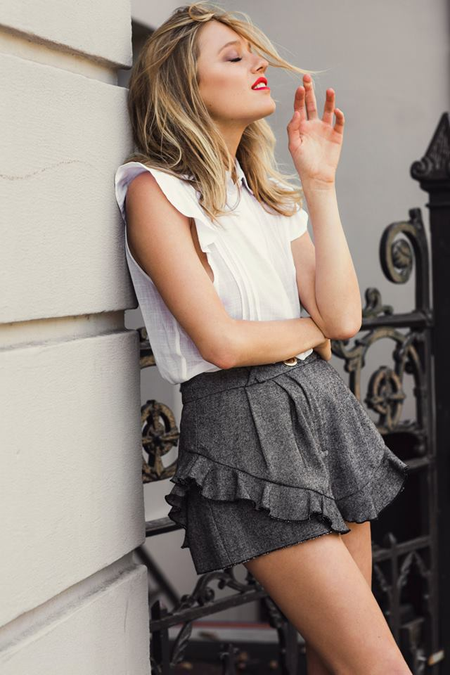 Ruby Favourites Collection Dove Shorts and Sunday blouse sleeveless