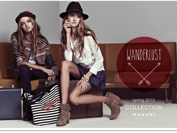 Moochi Wanderlust Spring Collection 2013