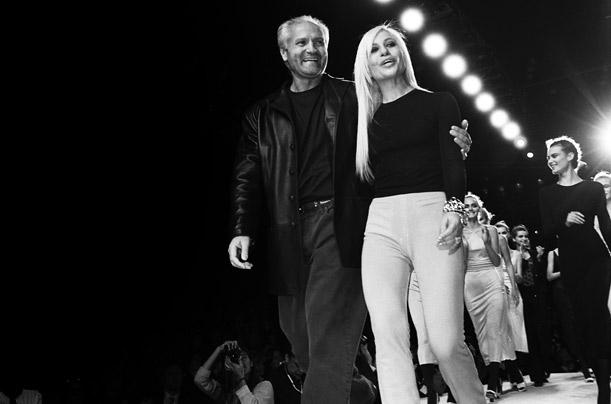 Gianni Versace Runway