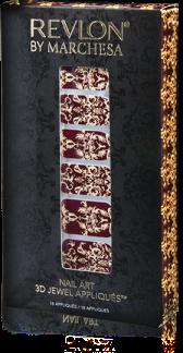Marchesa 3D jewel appliques Revlon