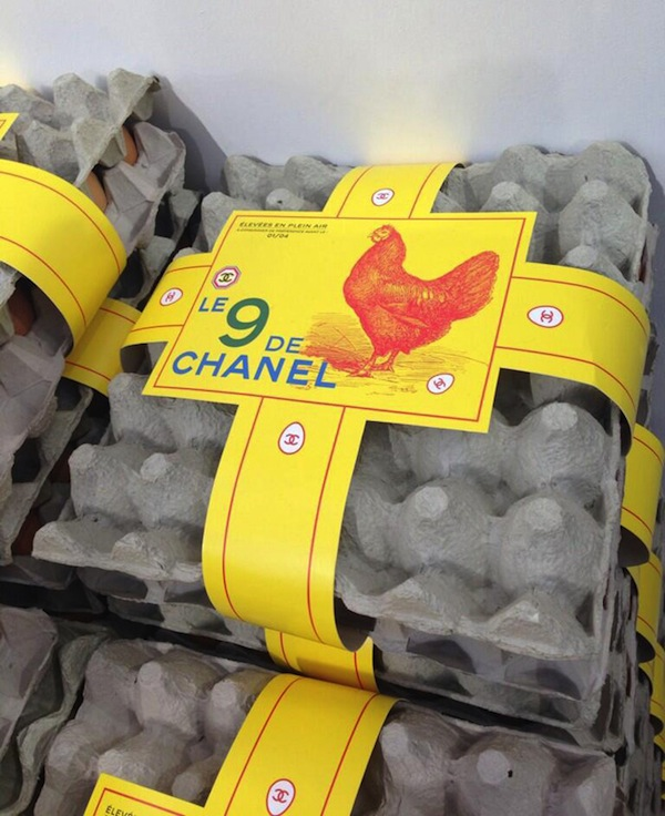 Chanel No 9 eggs