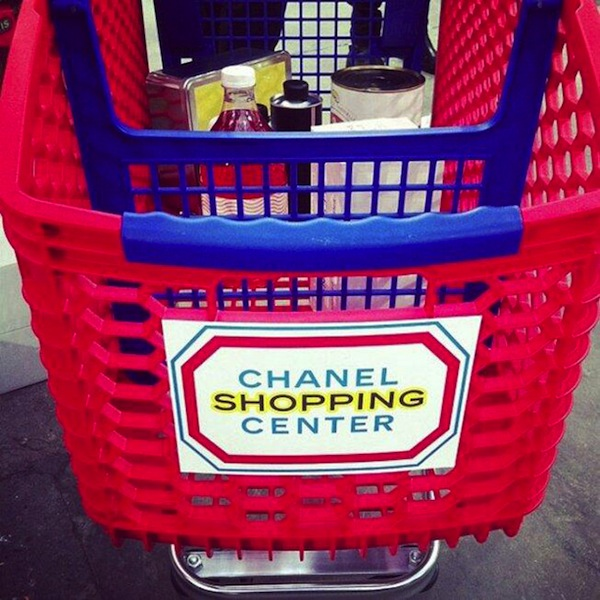 Chanel Shopping Center Cart
