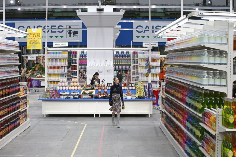 Chanel Supermarket catwalk 2