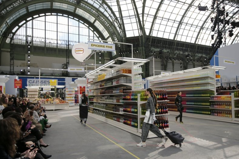 Chanel Supermarket catwalk